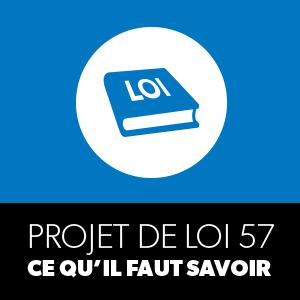 Projet de loi 57