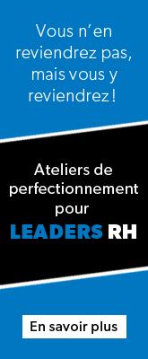 Ateliers de perfectionnement - Leaders RH