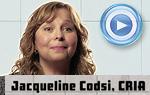 Jacqueline Codsi, CRIA, psychologue organisationnelle, gestionnaire et consultante en ressources humaines et D.O.