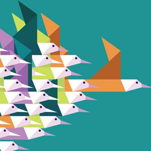 Oiseaux en papiers