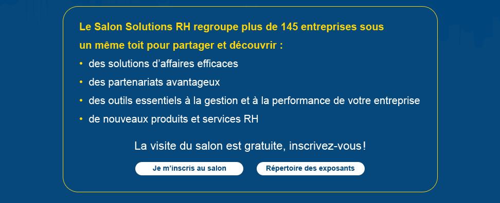 Congr s des ressources humaines 2015 for Salon solutions rh