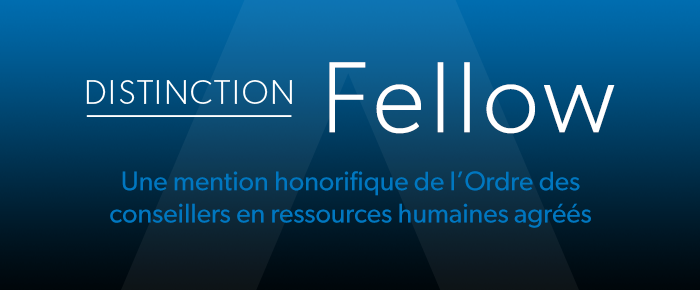 Distinction Fellow - Une mention honorifique de l'Ordre