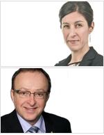 Joëlle Charpentier, CRHA et Serge Bossé