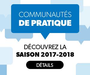 Communautés de pratique - Saison 2017-2018