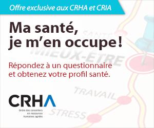 Offre exclusive aux CRHA et CRIA