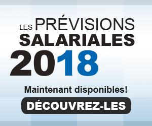 Prévisions salariales 2017