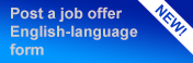 New! Post a job offer - English-language form